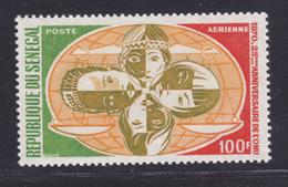 SENEGAL AERIENS N°   96 ** MNH Neuf Sans Charnière, TB (D7636) Anniversaire De L'O.N.U. - 1970 - Senegal (1960-...)