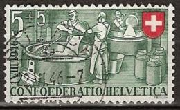 Switserland, Helvetia 1946 Mi. 471  - Yvert 428 Gestempeld/ Cancelled - Suisse