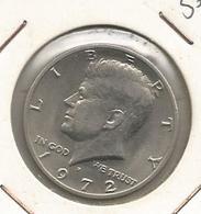 Monnaie ,Etats Unis ,United States Of America , Half Dollar ,1972 ,LIBERTY, 2 Scans - Bondsuitgaven