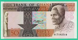 50 Cedis - Ghana - 1980 - N° AC192514  - Neuf - - Ghana