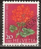 Switserland, Helvetia 1963 Mi.788y  - Yvert 723 Gestempeld/ Cancelled - Suisse