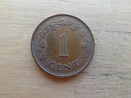 Malte  1  Cent  1975  Km 8 - Malta