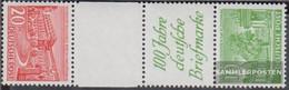 Berlin (West) SKZ2B Tested Unmounted Mint / Never Hinged 1949 Berlin Buildings - Unused Stamps