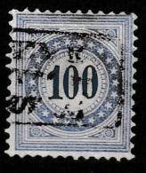 Switserland, Helvetia 1882 Taxe. Files De Soie Yvert 13.  Mi. 13 Very RARE - Strafportzegels