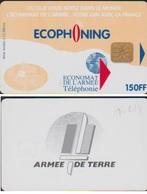 ECOPHONING 14 ECONOMAT Des ARMEES 150FF ARMEE De TERRE BEIGE CLAIR - France