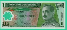 1 Quatzal - Guatemala - 2008 - N° B12325181C  - Polymère -  Neuf - - Guatemala