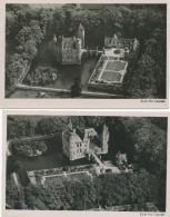 626/24 - NETHERLANDS 3 Viewcards Kasteel HEESWIJK Noord Brabant Used To Comtesse De Launoy Belgium - Other