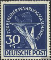 Berlin (West) 70 Unmounted Mint / Never Hinged 1949 Währungsgeschädigte - Unused Stamps