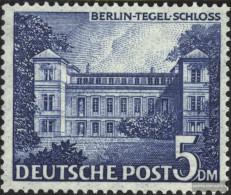 Berlin (West) Mi.-number.: 60 Unmounted Mint / Never Hinged 1949 Berlin Buildings - Unused Stamps