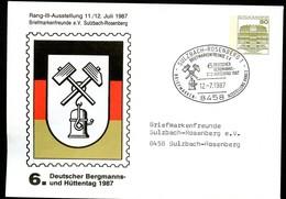 Bund PU117 D2/122 BERGMANNS- HÜTTENTAG Sulzbach-Rosenberg Sost.1987 - Geologie