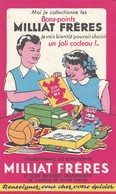 Rare Buvard Les Bons-points Milliat Frères - Kinder