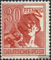 Berlin (West) 28 Tested Unmounted Mint / Never Hinged 1949 Rotaufdruck - Unused Stamps