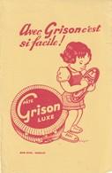 Rare Buvard Cirage Pâte Grison Luxe - Pulizia