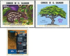 Ref. 42039 * MNH * - EL SALVADOR. 1983. ENVIRONMENT PROTECTION . PROTECCION DEL MEDIO AMBIENTE - El Salvador
