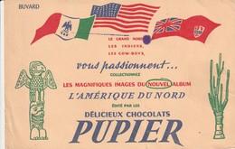 Rare Buvard Chocolat Pupier - Chocolat