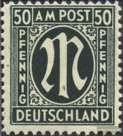 Bizonal (Allied Cast) 32a C, Dentate 11,5:11 Unmounted Mint / Never Hinged 1945 On-Post - American/British Zone