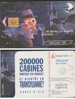 F1258D TÉLÉCARTE 50 U TRANSYLVANIE 2003/03 PUCE GEM2 - France