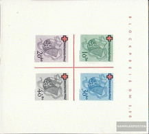 Franz. Zone-Rheinland Palatine Block1i (complete Issue) Unused 1948 Red Cross - French Zone