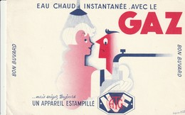 Rare Buvard GAz - Electricity & Gas