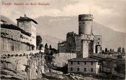 Trento - Castello Del Buon Consiglio * Karte Von 1906 - Trento