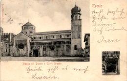 Trento - Piazza Del Duomo E Torre Grande * 5. IX. 1903 - Trento