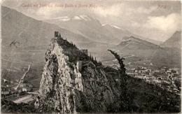 Arco - Castell Mit Blick Auf Monte Baldo U. Monte Maggiore - Trento