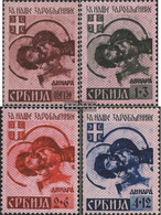 Serbia (German.cast.2.world.) 54I-57I (complete Issue) Unmounted Mint / Never Hinged 1941 POWs - Occupation 1938-45