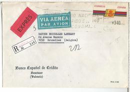 ALFARFAR VALENCIA  CC CC ATM LOGO CORREOS URGENTE CERTIFICADA - 1991-00 Covers