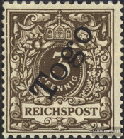 Togo (German. Colony) 1d Tested With Attest With Hinge 1898 Print Edition - Colony: Togo