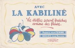 Rare Buvard La Kabiline - Textile & Vestimentaire