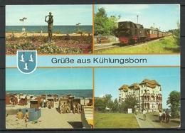 Deutschland DDR Ostseebad KÜHLUNGSBORN Gesendet Mit Briefmarke - Kuehlungsborn