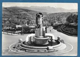 L'AQUILA FONTANA CAMPO POLISPORTIVO STADIO SPORT VG. 1952 - L'Aquila