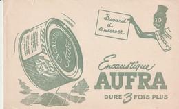 Rare Buvard Encaustique Aufra - Produits Ménagers
