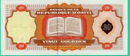 20 Gourdes - Haïti - 2001 - N° TL018412 - Bicentenaire Constitution  -  Neuf - - Haiti