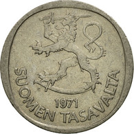 Monnaie, Finlande, Markka, 1971, TB+, Copper-nickel, KM:49a - Finlande