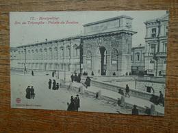 """Montpellier , Arc De Triomphe , Palais De Justice """""""" Carte Animée """""""" - Montpellier"""