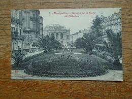 """Montpellier , Square De La Gare De Palavas """""""" Carte Animée Jardiniers Dans Le Square """""""" - Montpellier"""