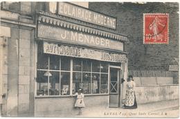 LAVAL - Devanture De Magasin  De J. Ménager, Eclairage Moderne - Laval