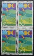 ALLEMAGNE FEDERALE N°661 X 5 Oblitéré - Timbres