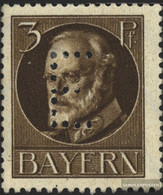 Bavaria D12 Tested Unmounted Mint / Never Hinged 1914 King Ludwig III. - Bavière