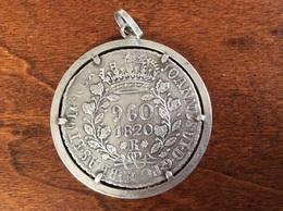 PORTUGAL BRASIL 960 REIS 1820 SILVER - Brasile