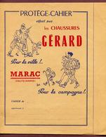 "COUVERTURE DE CAHIER  : "" LES CHAUSSURES GERARD à MARAC (Haute-Marne) "" - Copertine Di Libri"