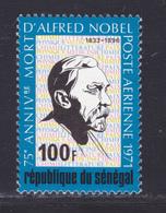 SENEGAL AERIENS N°  109 ** MNH Neuf Sans Charnière, TB (D7640) Alfred Nobel - 1971 - Senegal (1960-...)