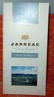 JANNEAU GRAND ARMAGNAC BROCHURE - Alcolici