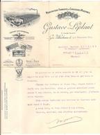 Gustave Leplant Manufacture Française De Chaussures Modernes Lyon Villeurbanne 69 Rhône 1914 - Textile & Vestimentaire