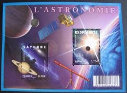PTT/324 - 2009 - L'ASTRONOMIE - BLOC NEUF** N° F4353 - Sheetlets