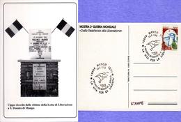 RICORDO DEI MARTIRI DI  SAN DONATO DI MANGO (CN) 1996-ANNULLO SPECIALE - Cartoline