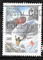 CANADA 1991  USED # 1330  DANGEROUS OCCUPATIONS: Ski Patrol - 1952-.... Règne D'Elizabeth II