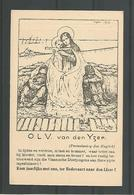 Oude Postkaart Pentekening  Joe English.  O.L.V. Van Den IJzer - War 1914-18