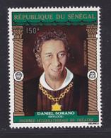 SENEGAL AERIENS N°  118 ** MNH Neuf Sans Charnière, TB (D7644) Journée Internationnale Du Théâtre - 1972 - Senegal (1960-...)